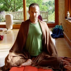 Gary in meditation